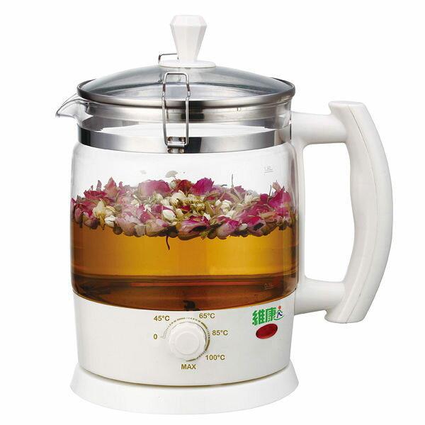 【威利家電】【刷卡分期0利率+免運】WK-1880維康1.8L養生壺快煮壺電茶壺
