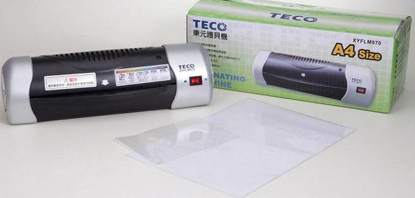 【威利家电】【分期0利率+免运】TECO东元 A4冷热多功能相片护贝机 XYFLM-970