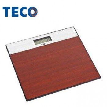 【威利家电】【分期0利率+免运】TECO 东元 欧风电子体重计 经典木纹 XYFWT382