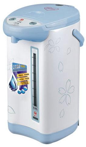 【威利家電】【分期0利率+免運】晶工牌5.0L(電動+碰杯)熱水瓶JK-7150 內膽採用304不鏽鋼