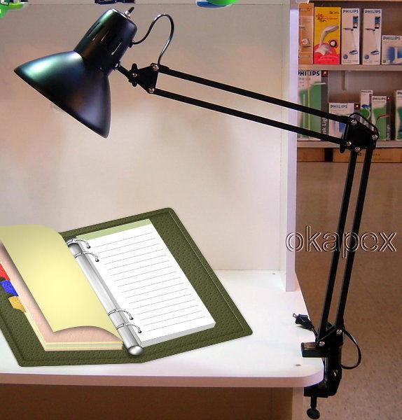 【威利家電】S608 日暉工作燈 麻將燈鋼琴燈製圖燈 多功能夾燈 台灣製