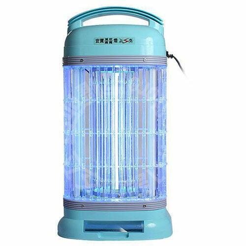 【威利家電】【刷卡分期零利率+免運費】安寶 (AB-9100A) 15W靜音型捕蚊燈