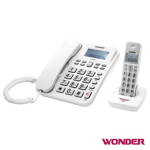 【威利家電】【分期0利率+免運】旺德 2.4G高頻數位無線電話WD-9102D