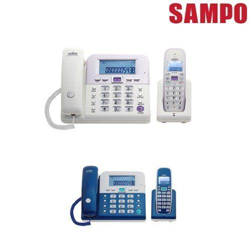 【威利家電】【刷卡分期零利率+免運費】聲寶 數位2.4GHz無線子母電話CT-W1103NL(藍、白兩色可選)