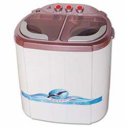 【威利家電】[晶華即時洗節能雙槽洗滌機(粉紅)ZW-218S