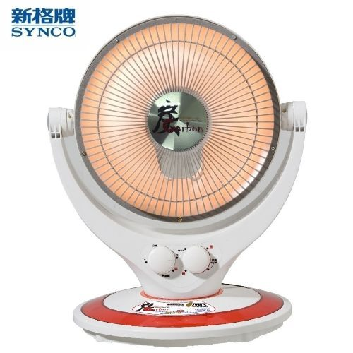新格SYNCO-10吋碳素定時電暖器SHT-1095