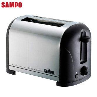 【威利家電】【刷卡分期零利率+免運費】SAMPO聲寶 烤麵包機 TR-LA60S
