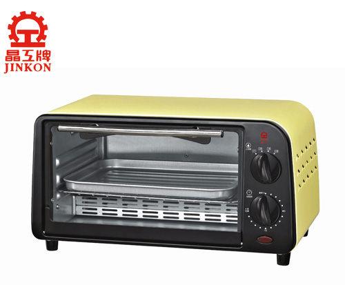 威利家電:【威利家電】【分期0利率+免運】晶工9公升鵝黃色烤漆電烤箱JK-609