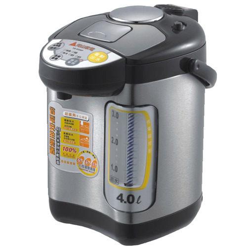 【威利家電】【刷卡分期零利率+免運費】元山牌4L多功能三溫熱水瓶 YS-533AP