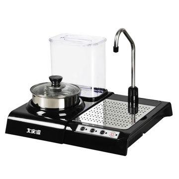 【威利家電】大家源熱式飲水機泡茶款TCY-5904蒸煮鍋可清潔收納茶具
