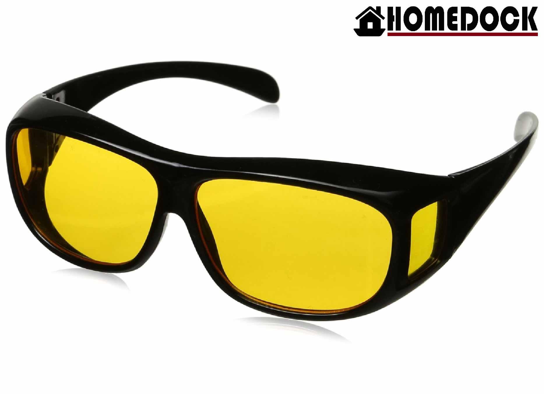 HOMEDOCK-HD防眩光遮陽眼鏡 兩入裝