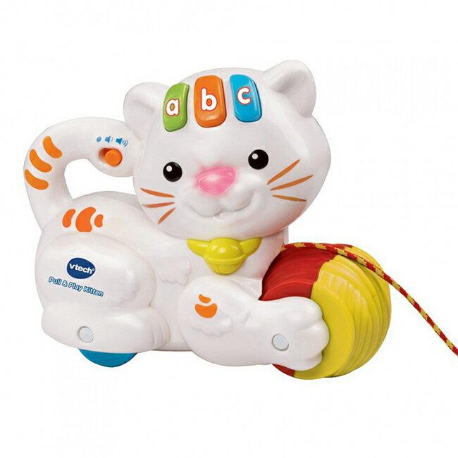 【英國 Vtech 嬰幼兒系列】拉拉音樂貓咪
