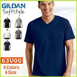 Gildan 63V00 經典款 V領 素T  班服 團體服 T恤 男女 可 穿