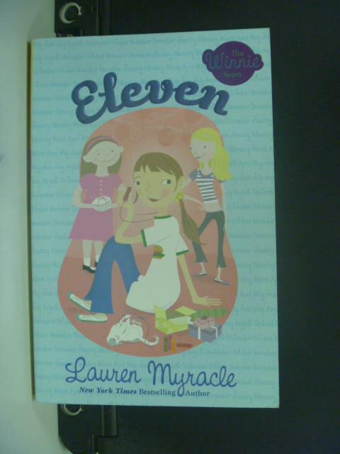 【書寶二手書T6/原文小說_OIR】Eleven_Myracle, Lauren