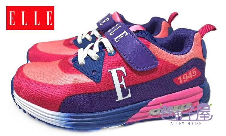 【巷子屋】ELLE 女童繽紛輕量康特杯運動慢跑鞋 [52143] 桃粉 超值價$398