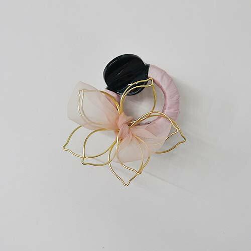 (預購+現貨)五葉花的浪漫。髮飾鯊魚夾【6-18001】