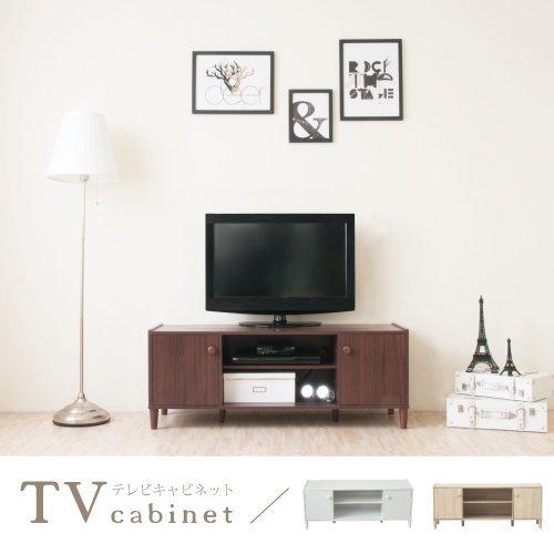 生活大發現-H-和風原木系二門電視櫃(胡桃木) 電視/收納/櫃子/台灣製造