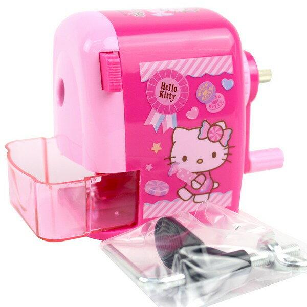 Hello Kitty凱蒂貓大小通吃削筆機 KT可調式削鉛筆機/一台入{促360}~豪~佳