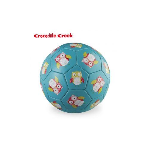 ★衛立兒生活館★美國Crocodile Creek 3號兒童運動遊戲足球7吋--親親貓頭鷹