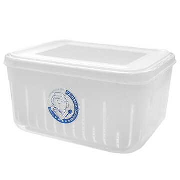 【nicegoods】田媽媽濾水保鮮盒 3入(廚房收納 食品保鮮)