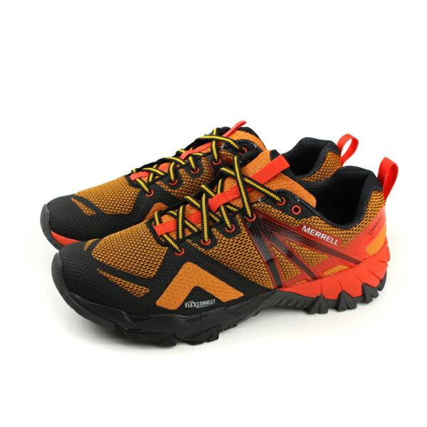 MERRELLMQMFLEXGTXGore-tex運動鞋防水橘色男鞋ML98305no888