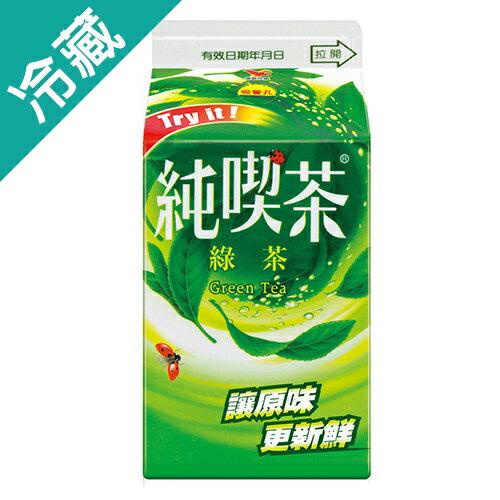 純喫茶綠茶 481ML/瓶【愛買冷藏】