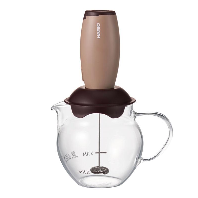 金時代書香咖啡    HARIO 古銅電動奶泡器組 CQT-45BR