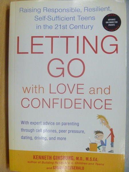 【書寶二手書T7/原文小說_ZKW】Letting Go with Love and Confidence