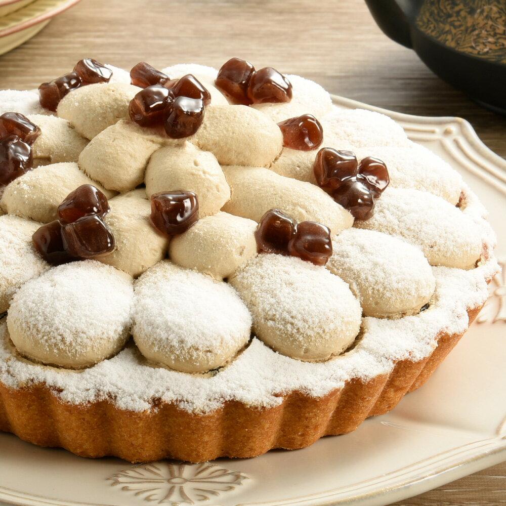 連日本都夯的珍珠口味-黑糖珍珠美人茶派6吋【亞尼克】🏆人氣團購美食💯 - 限時優惠好康折扣