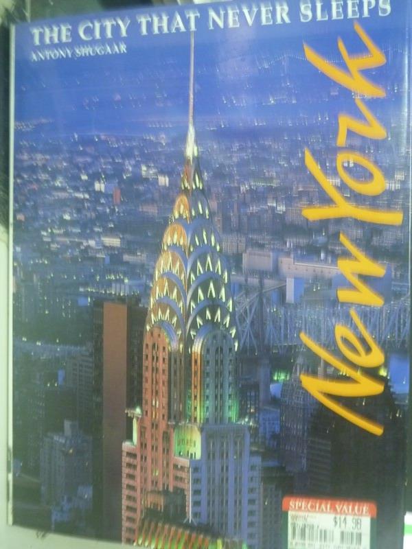 ~書寶 書T3/地理_ZDN~New York~The City That Never S
