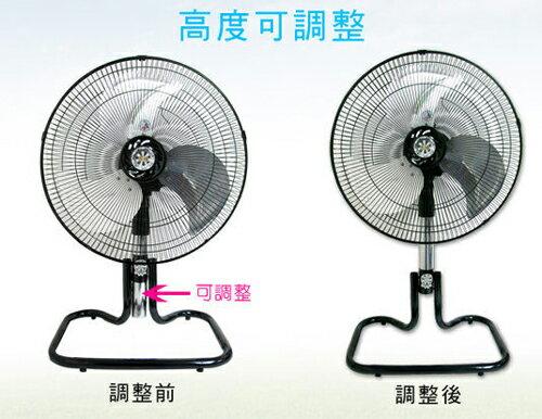 淘禮網  GM-178 台灣通用 18吋工業立扇/涼風扇