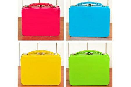 韓版時尚糖果色手提收納鐵盒(顏色隨機.現貨+預購)