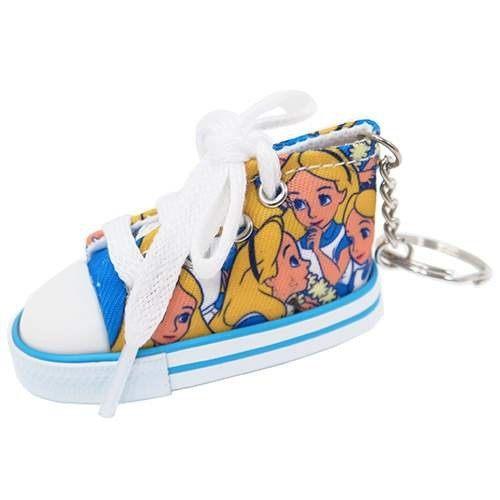 99元免運【五折】日本迪士尼 愛麗絲 Alice 可愛帆布鞋鑰匙圈 愛麗絲夢遊仙境 該該貝比日本精品