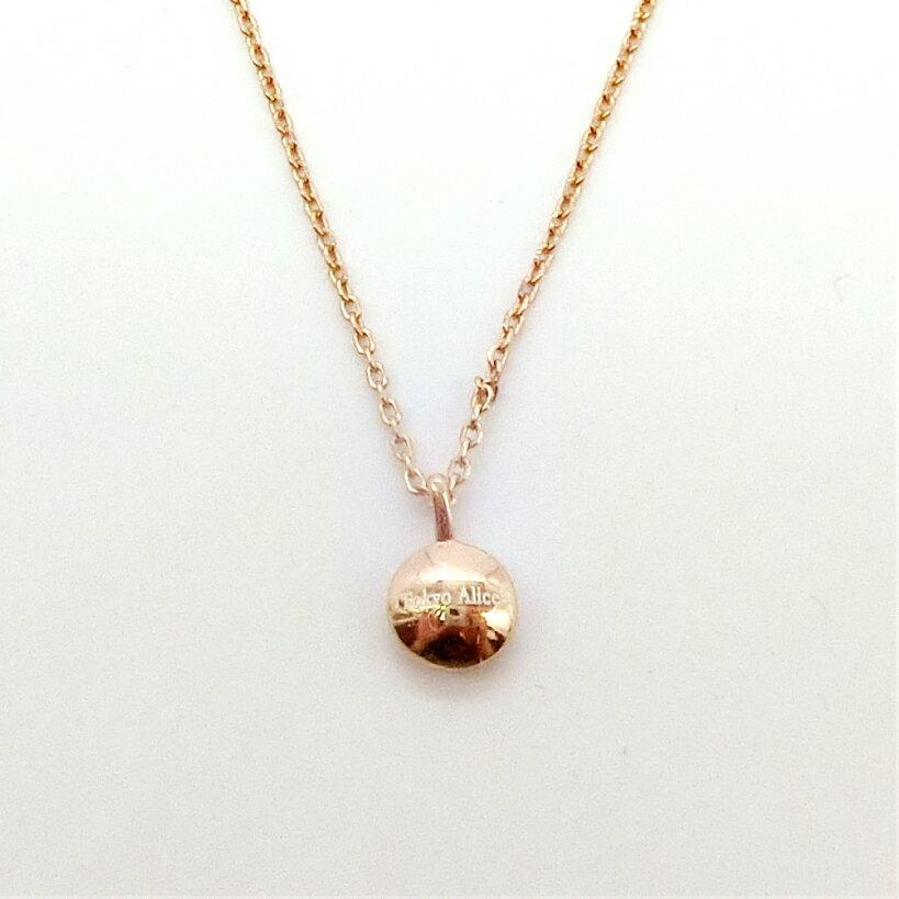 Tokyo Alice 925純銀玫瑰金色豆豆項鍊,Doctors 朴信惠同款項鏈飾品首飾銀飾甜美鎖骨鏈(s0000129)