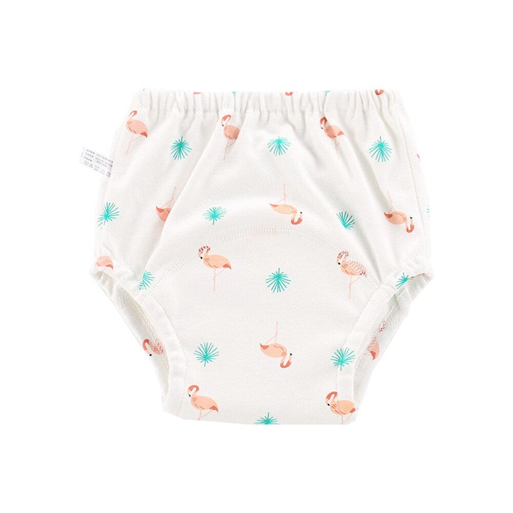 紗布學習褲 嬰兒尿布褲 訓練褲隔尿褲 -JoyBaby