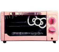 【真愛日本】14043000001 電烤箱-與松鼠粉 三麗鷗 Hello Kitty 凱蒂貓 廚房電器用品 家電用品 附架夾 模具 托盤