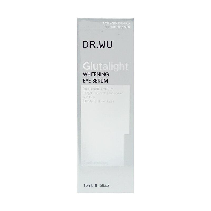 DR.WU 達爾膚 潤透光美白眼部精華液 (15ml)【優.日常】
