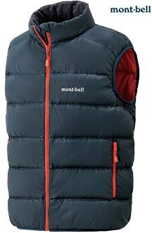 Mont-Bell 小朋友羽絨背心/兒童保暖背心 Neige 大童款 1101556 DKNV深海軍藍 montbell