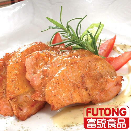 《 人氣美食》【富統食品】迷迭香草雞腿排1KG 1