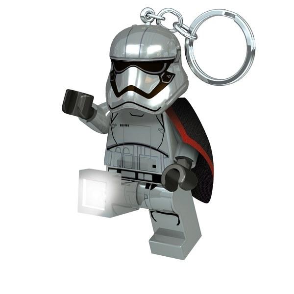 【 LEGO 樂高積木 】星際大戰 - 法斯瑪隊長鑰匙圈 LED鑰匙圈燈
