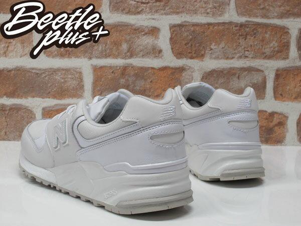 BEETLE NEW BALANCE ML999AW 999 WHITE OUT 全白 皮革 復古 慢跑鞋 1