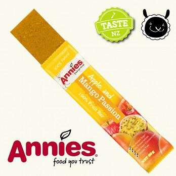 【壽滿趣- 紐西蘭原裝進口】Annies 全天然水果條(百香芒果6盒, 36片家庭裝) 2