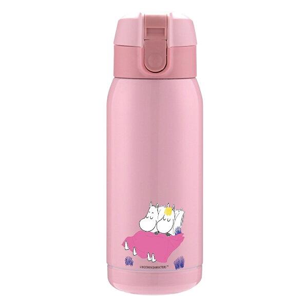 【Moomin】輕量保溫瓶(粉紅)