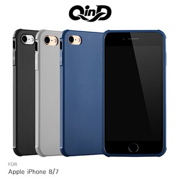 強尼拍賣~QinDAppleiPhone874.7吋刀鋒保護套防摔氣囊TPU軟套保護殼