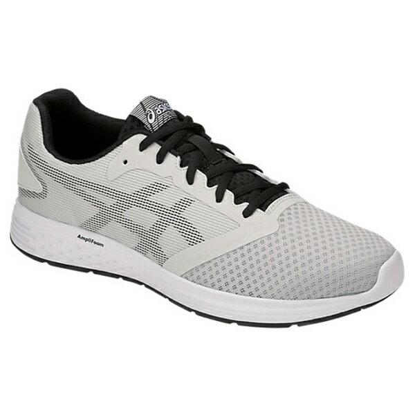 Shoestw【1011A131-023】ASICS 亞瑟士 PATRIOT 10 慢跑鞋 基本款 網布 淺灰白黑 男生 1