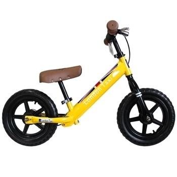 NANABABY:【英國LondonTaxiKickBike】幼兒平衡滑步車-黃