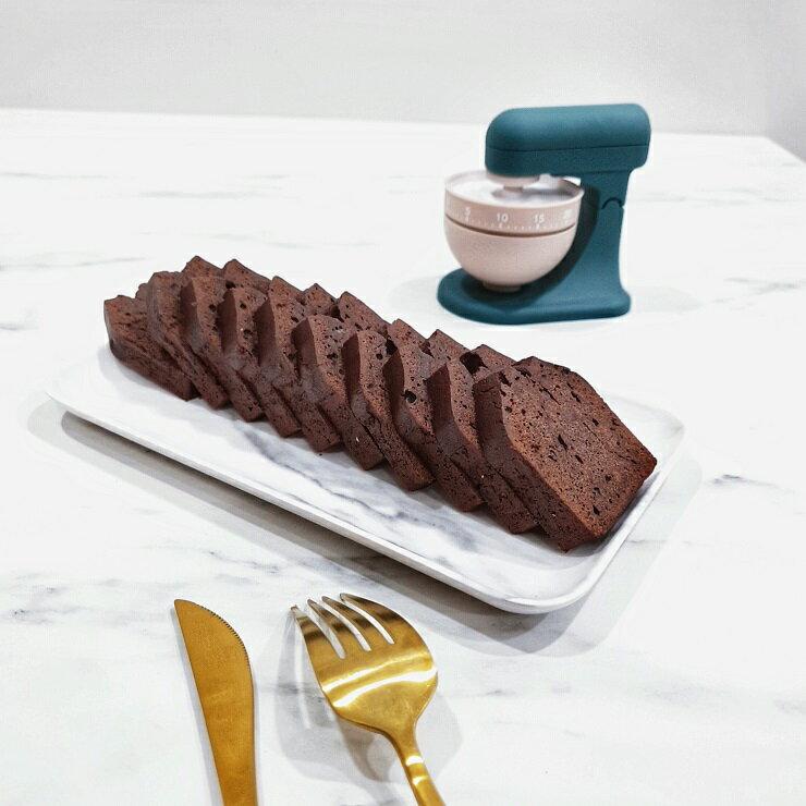 【微甜時光】巧克力蘭姆酒磅蛋糕 (1盒10片)