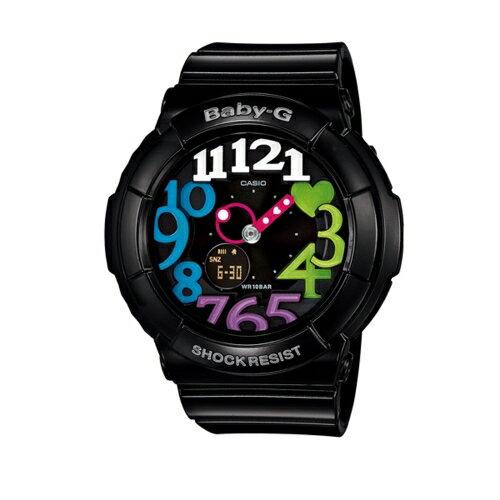 CASIO BABY-G/甜美時尚風流行運動錶/BGA-131-1B2DR