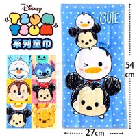 2017新款 迪士尼 Disney TSUM TSUM系列 100%棉 童巾 唐企