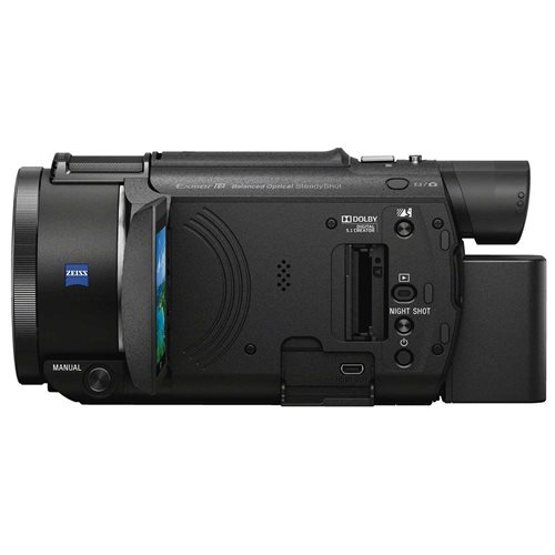 "Sony Handycam FDR-AX53 Digital Camcorder - 3"" - Touchscreen LCD - Exmor R CMOS - 4K - Black - 16:9 - 8.3 Megapixel Video - XAVC S, H.264/MPEG-4 AVC, AVCHD, MP4 - 20x Optical Zoom - 250x Digital Zoom - Optical (IS) - HDMI - USB - SDHC, SDXC, Memory Stick P 2"